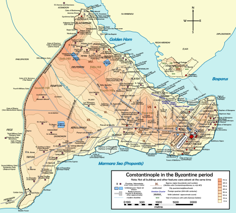 Map-of-Constantinople