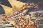 οι Οθωμανοί κατασκεύασαν διόλκο δώδεκα χλμ. από τον Βόσπορο στον Κεράτιο και πέρασαν με αυτό τον τρόπο 70 πλοία στον Κεράτιο κόλπο.