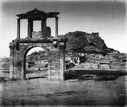 Η Ακρόπολη από τη Πύλη του Αδριανού